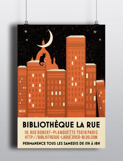 Bibliothèque La Rue