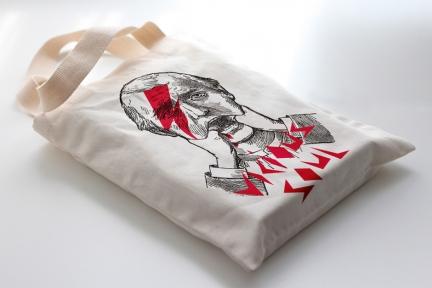 Tote bag Vicious Soul