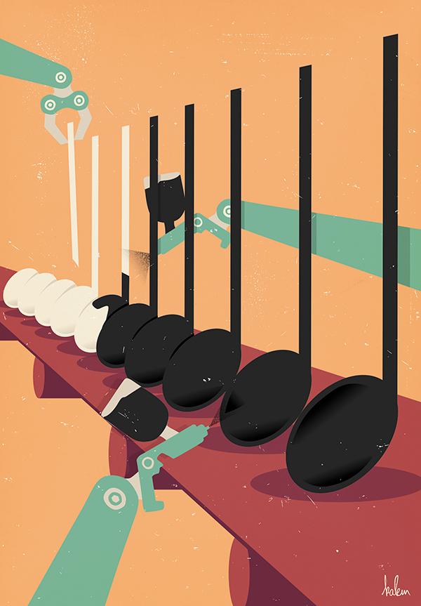 fabrique-des-tubes-musique-kalem-agence-miracle-illustration-graphisme-journal-cqfd-1