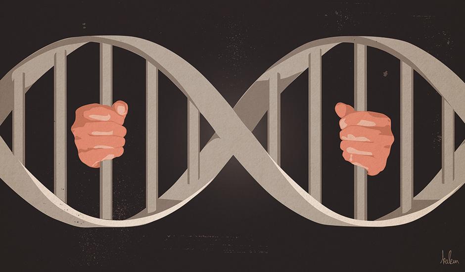 fichage-génétique-février-2018-kalem-agence-miracle-illustration-graphisme-journal-cqfd-940px