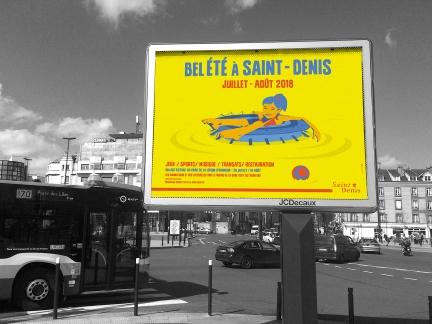 Bel été 2018 à Saint-Denis