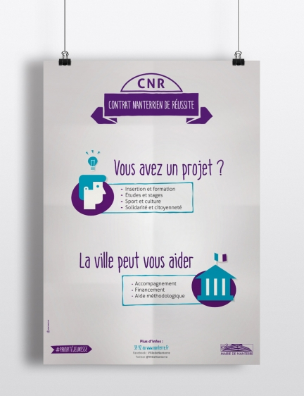 Contrat Nanterrien de Réussite – Affiche