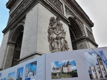 Monuments nationaux et Arc de triomphe